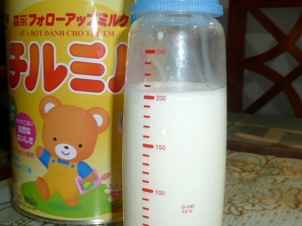 Hướng dẫn cách pha sữa morinaga chi tiết, có hình ảnh (4)