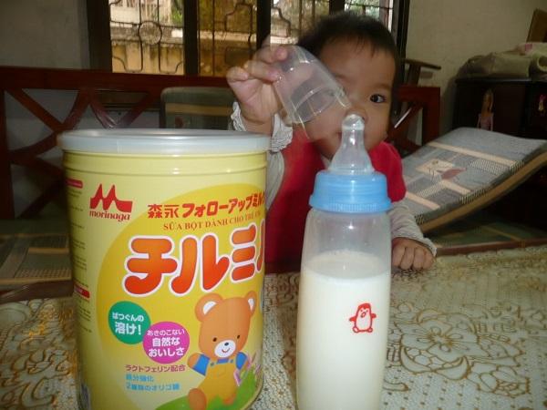 Hướng dẫn cách pha sữa morinaga chi tiết, có hình ảnh (6)