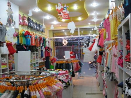 Các bước cần chuẩn bị khi mở cửa hàng kinh doanh quần áo trẻ em