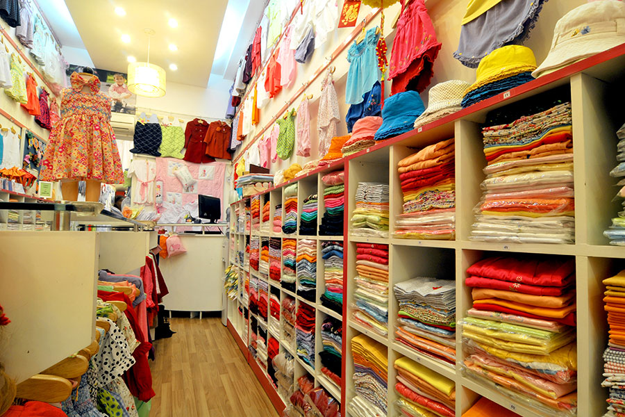 Các bước cần chuẩn bị khi mở cửa hàng kinh doanh quần áo trẻ em - Phần 2