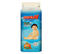 Bỉm Goon Slim L34 cho trẻ sơ sinh chính gốc Nhật