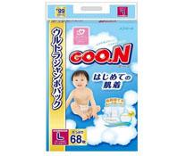 Bỉm Goon nội địa Jumbo L68 cho bé 9  - 14 kg