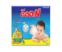 Bỉm dán Goon Slim S20, bỉm cho trẻ sơ sinh siêu mềm