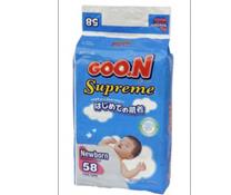 Bỉm Goon Newborn 58, bỉm thấm hút cho trẻ sơ sinh