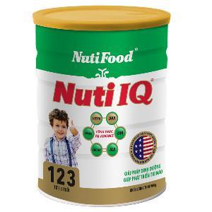 Sữa bột Nutifood IQ 123 - 900g, chương trình khuyến mại 2014