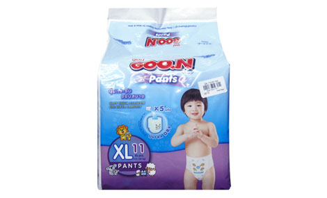 Bỉm quần Goon Slim XL11