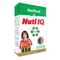 Nuti IQ 456 Gold - 900g là sữa bột dành cho trẻ 3 - 6 tuổi
