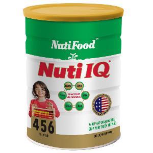 Sữa bột Nuti IQ 456 - 900g , giá bán sữa bột cho trẻ em
