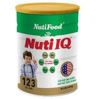 Sữa bột Nuti IQ 123 - 400g cho trẻ em 1 - 3 tuổi
