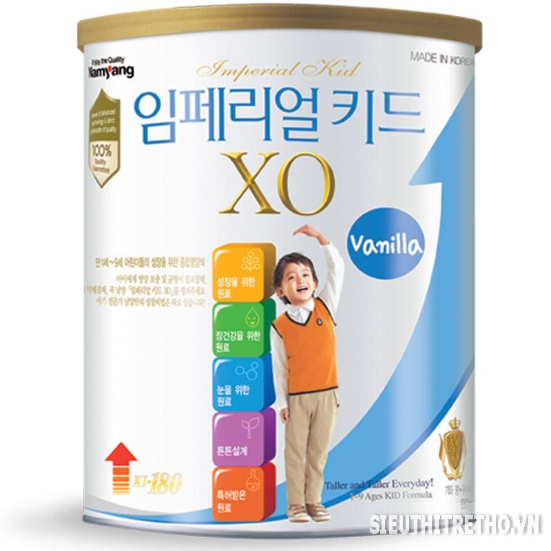 Sữa bột XO Kid - 660g Vani