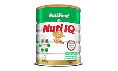 Sữa bột Nuti IQ Step 2 - 900g(Thụy sỹ)