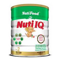 Sữa bột Nuti IQ Step 2 - 900g(Thụy sỹ) dành cho trẻ 6 tháng tuổi