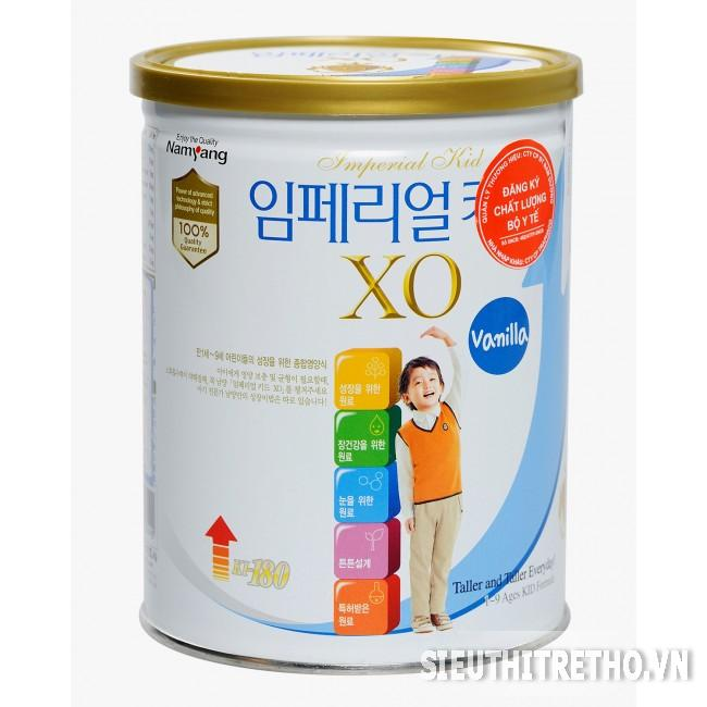 Sữa bột XO Kid - 350g Vani