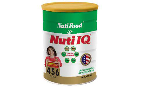 Sữa bột Nuti IQ 456 - 400g 1
