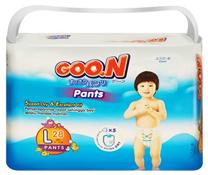 Bỉm quần JUMBO GOON size L-28 miếng cho bé 9-14 kg, bỉm quần thời trang