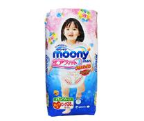 Bỉm quần Moony XL38 cho bé gái  giá rẻ Hà Nội