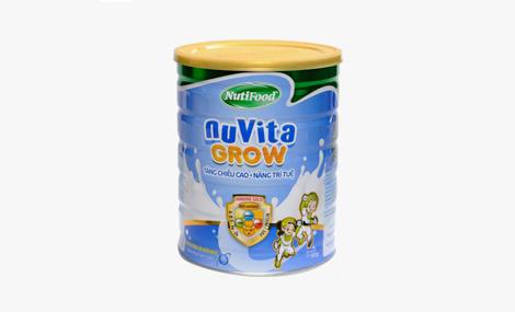 Sữa bột NuVita Grow 900g 1