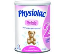 Sữa bột Physiolac số 2 400g cho trẻ sơ sinh từ 6 - 12 tháng tuổi