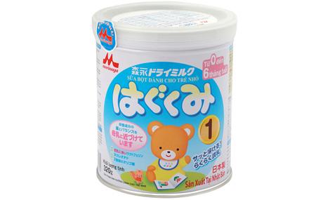 Sữa Morinaga - Hagukumi số 1- 320g 1