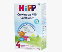 Sữa bột siêu sạch HiPP số 4 Combiotic Organic 500g , trà hipp