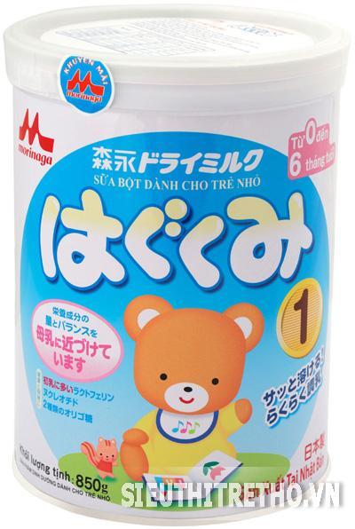 Sữa Morinaga - Hagukumi số 1- 850g