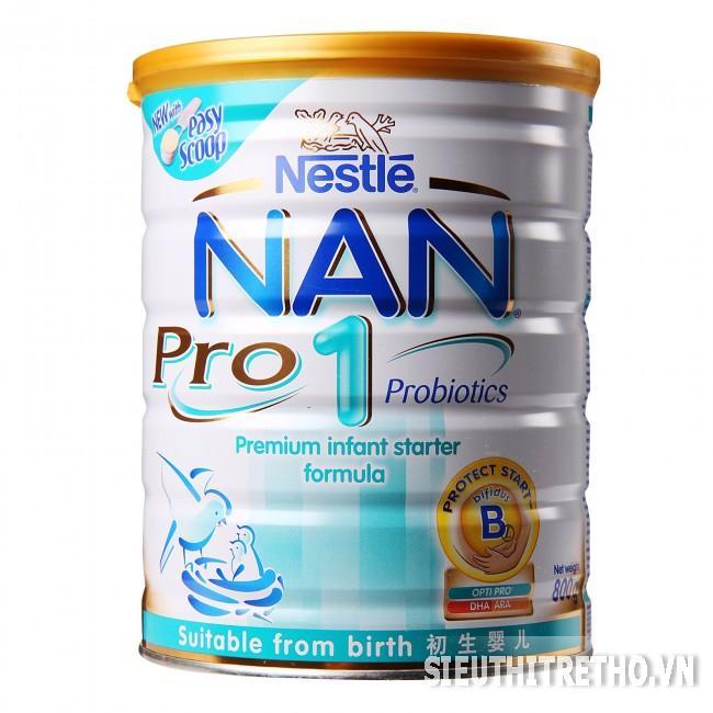 Sữa bột Nestle Nan 1 Pro 800g
