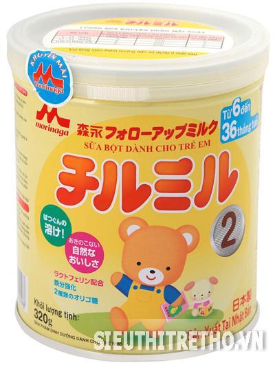 Sữa Morinaga - Chilmil số 2  - 320g