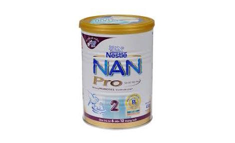 Sữa bột Nestle Nan 2 Pro 400gr