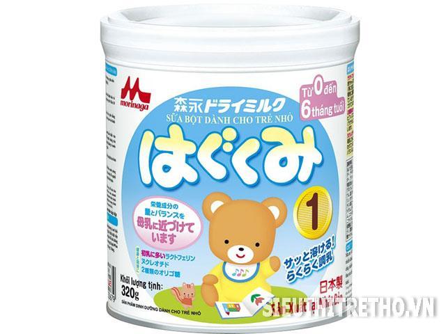 Sữa Morinaga - Hagukumi số 1- 320g