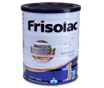 Giá Sữa bột Frisolac số 1 900g ( cho trẻ em 0 - 6 tháng tuổi )