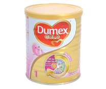 Sữa bột Dumex Dulac Gold 1 - 400g cho trẻ sơ sinh