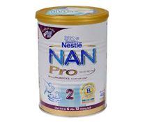 Sữa bột Nan Nga Nestle Pro số 2 400g cho trẻ sơ sinh
