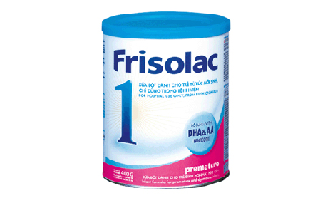 Sữa bột Frisolac Premature 400gr