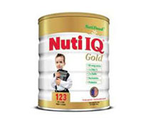 Sữa bột Nuti IQ 123 Gold - 900g