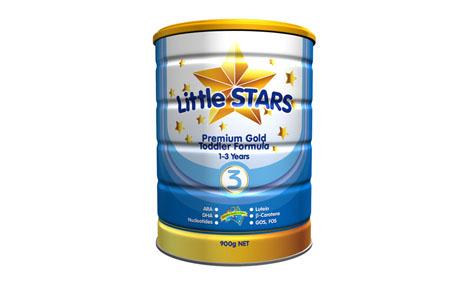 Sữa bột LittleStars Premium Gold 3 - 900gr 1