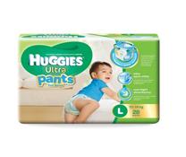 Bỉm quần Huggies Ultra Pants size L-28 miếng cho bé trai 10-14kg