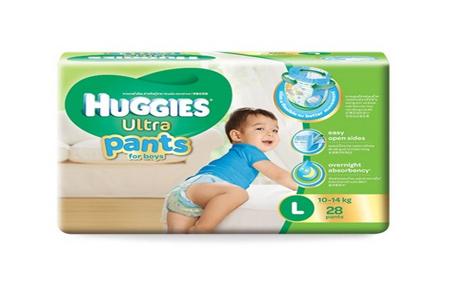Bỉm quần Huggies Ultra Pants size L - 28 miếng