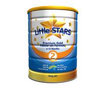 Sữa bột LittleStars Premium Gold 2 - 900gr nhập