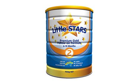 Sữa bột LittleStars Premium Gold 2 - 900g1