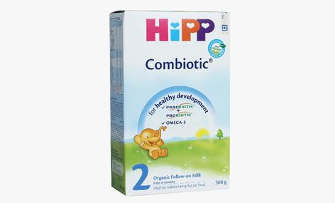 Sữa bột HiPP 2 Combiotic Organic 300g 1