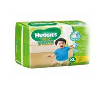 Bỉm quần Huggies Ultra Pants size XL-24 miếng cho bé trai 13-18kg