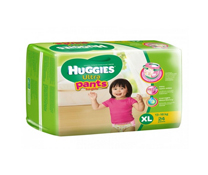 Bỉm quần Huggies Ultra Pants size XL-24 miếng cho bé gái 13-18kg giá rẻ
