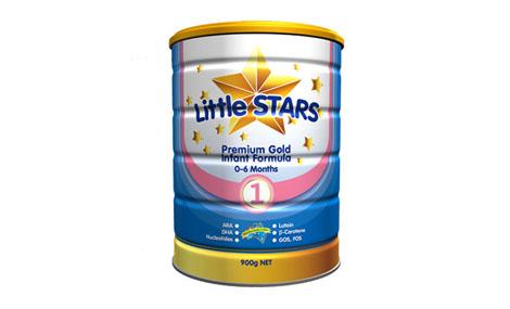 Sữa bột LittleStars Premium Gold 1 - 900gr