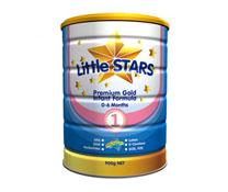 Sữa bột LittleStars Premium Gold 1 - 900g nhập khẩu tại Úc
