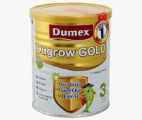 Giá bán sữa bột Dumex Dugrow Gold số 3 - 400g cho trẻ 1 - 3 tuổi