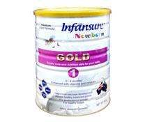 Sữa úc - Sữa bột Infānsure Gold Step 1 - 900g nhập khẩu