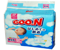Với Bỉm dán Goon nội địa NB90 tốt cho trẻ sơ sinh