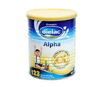 Sữa bột Alpha 123 HT 400g sản phẩm của Vinamilk.