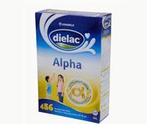 Sữa bột Dielac Alpha 456 HG 400g sản phẩm của Vinamilk