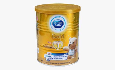 Sữa bột Cô gái Hà Lan Dutch Lady Gold Step 1 - 400g